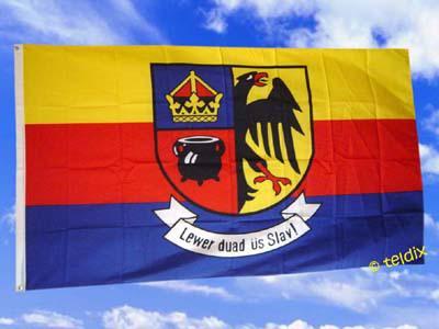 Fahne Flagge NORDFRIESLAND 150 x 90 cm