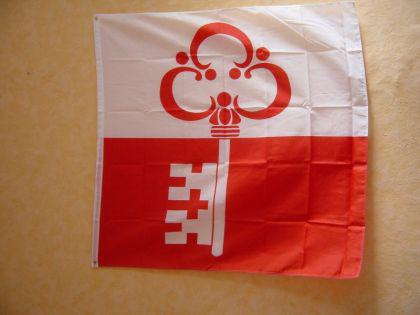 Fahne Flagge OBWALDEN 120 x 120 cm