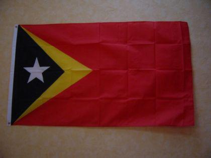 Fahne Flagge OST TIMOR 150 x 90 cm