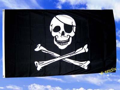 Fahne Flagge PIRAT 150 x 90 cm