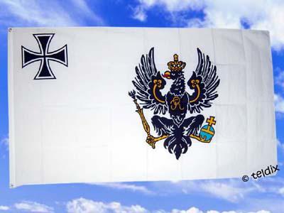 Fahne Flagge PREUSSEN 1917 ? 1918 / 150 x 90 cm