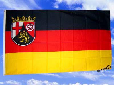 Fahne Flagge RHEINLAND PFALZ 150 x 90 cm
