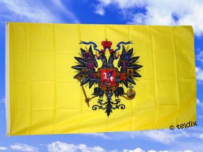 Fahne Flagge RUSSISCHE ZARENFLAGGE 150 x 90 cm