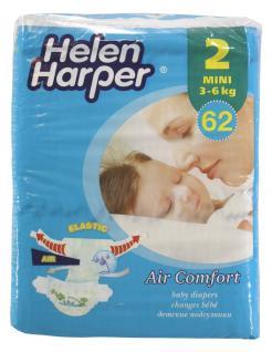 Helen Harper Einwegwindeln 186 St. Air Comfort Mini Gr. 2 3-6kg - Vorschau