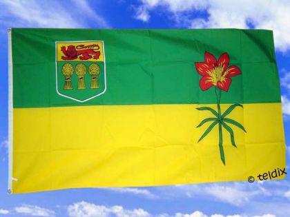 Fahne Flagge SASKATCHEWAN 150 x 90 cm