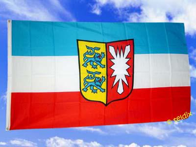 Fahne Flagge SCHLESWIG HOLSTEIN 150 x 90 cm