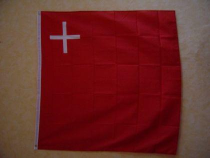 Fahne Flagge SCHWYZ 120 x 120 cm