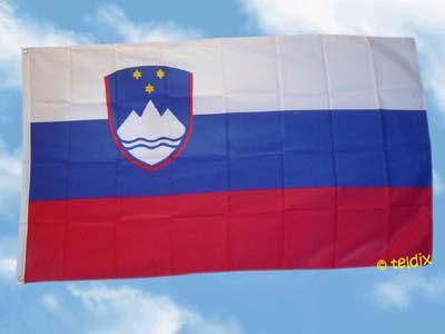Fahne Flagge SLOWENIEN 150 x 90 cm