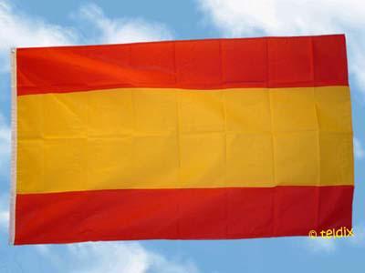 Fahne Flagge SPANIEN OHNE WAPPEN 150 x 90 cm