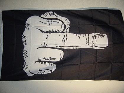 Fahne Flagge STINKEFINGER 150 x 90 cm
