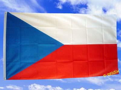 Fahne Flagge TSCHECHISCHE REPUBLIK 150 x 90 cm