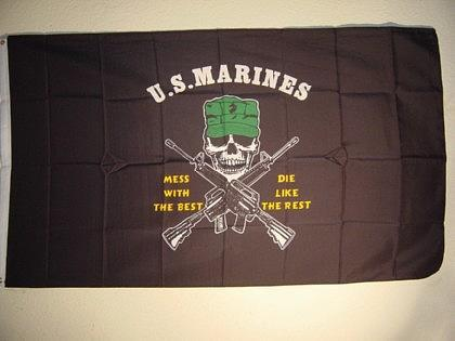 Fahne Flagge U. S. MARINES 150 x 90 cm