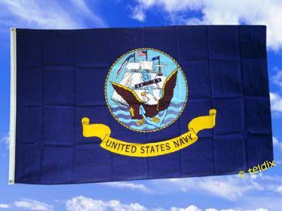 Fahne Flagge US NAVY 150 x 90 cm