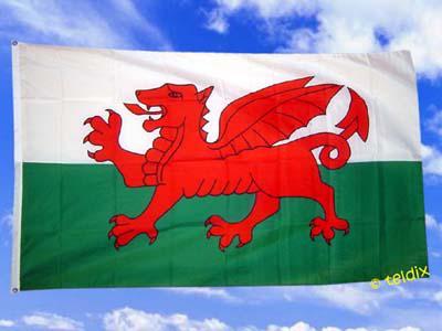 Fahne Flagge WALES 150 x 90 cm