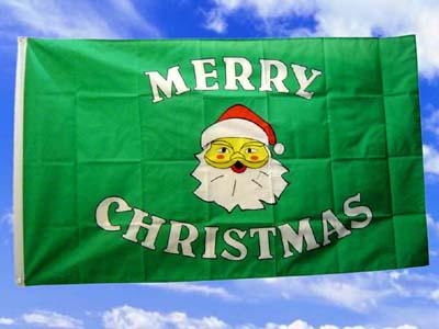 Fahne Flagge MERRY CHRISTMAS 2 / 150 x 90 cm