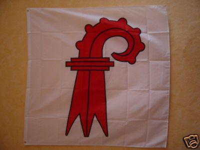Fahne Flagge BASEL LANDSCHAFT 120 x 120 cm