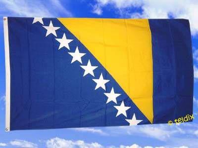 Fahne Flagge BOSNIEN HERZEGOWINA 150 x 90 cm