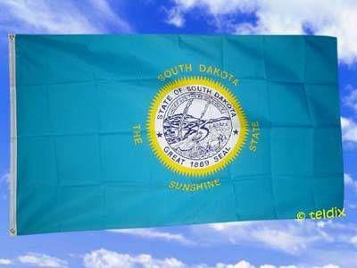 Fahne Flagge SOUTH DAKOTA 150 x 90 cm