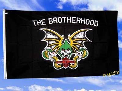 Fahne Flagge THE BROTHERHOOD 150 x 90 cm
