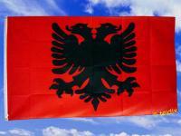 Fahne Flagge ALBANIEN 150 x 90 cm