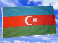 Fahne Flagge ASERBAIDSCHAN 150 x 90 cm