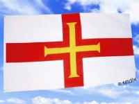 Fahne Flagge GUERNSEY 150 x 90 cm