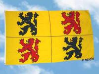Fahne Flagge HAINAUT BELGIEN 150 x 90 cm