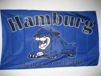 Fahne Flagge HAMBURG MACHT DER ELBE b 150 x 90 cm