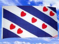 Fahne Flagge HOLLAND FRIESLAND 150 x 90 cm