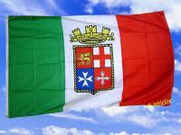 Fahne Flagge ITALIEN MARINE 150 x 90 cm