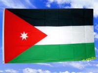 Fahne Flagge JORDANIEN 150 x 90 cm
