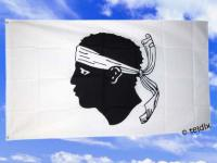 Fahne Flagge KORSIKA 150 x 90 cm