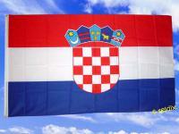 Fahne Flagge KROATIEN 150 x 90 cm