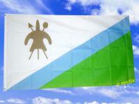 Fahne Flagge LESOTHO 150 x 90 cm