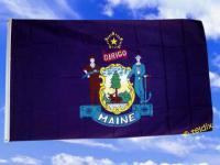 Fahne Flagge MAINE 150 x 90 cm