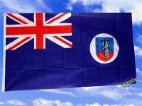 Fahne Flagge MONTSERRAT 150 x 90 cm