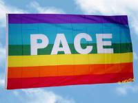 Fahne Flagge PACE 150 x 90 cm