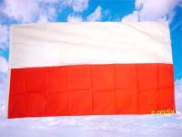 Fahne Flagge POLEN OHNE WAPPEN 150 x 90 cm