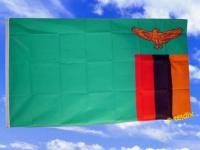 Fahne Flagge SAMBIA 150 x 90 cm
