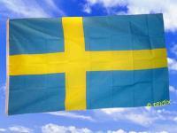 Fahne Flagge SCHWEDEN 150 x 90 cm