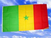 Fahne Flagge SENEGAL 150 x 90 cm