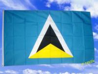 Fahne Flagge ST. LUCIA 150 x 90 cm