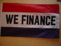 Fahne Flagge WE FINANCE 150 x 90 cm