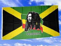 Fahne Flagge BOB MARLEY 150 x 90 cm