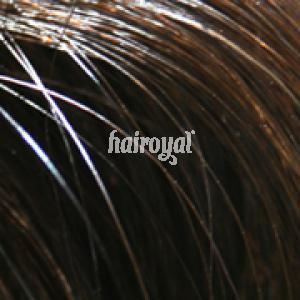Hairoyal Clip-On-Tressen-Set - glatt #Dunkelbraun