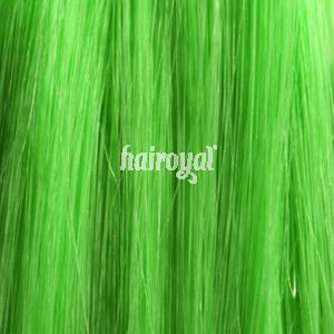 HAIROYAL® Synthetic-Extensions # Apple Green