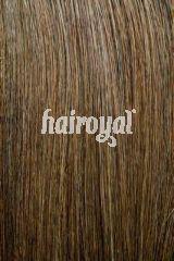 Hairoyal® SkinWefts Haarlänge 55/60 cm gewellt #4- Mittel-Dunkelbraun - Vorschau