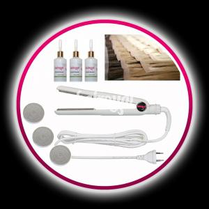 Profiset für Hairoyal® SkinWefts gewellt - Vorschau 1