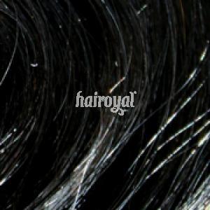 Hairoyal Clip-On-Tressen-Set - gewellt #1b- Schwarz