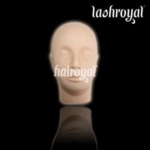 Hairoyal® - Übungskopf mit 1 Paar Übungswimpern